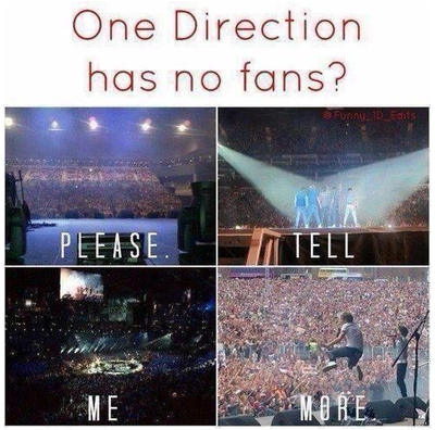 Who says 1D has no fans????